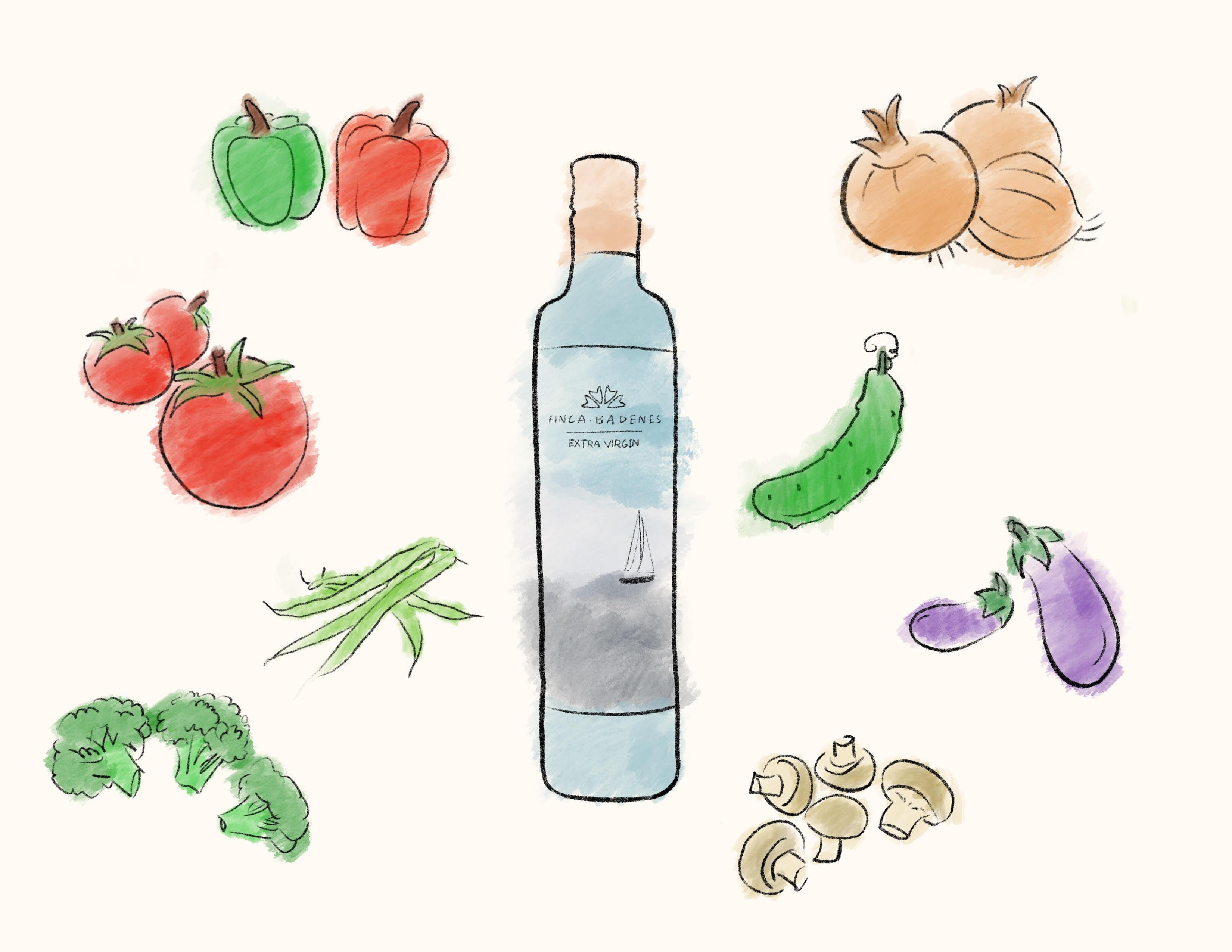 有了好橄欖油,開胃菜可以這麼簡單!