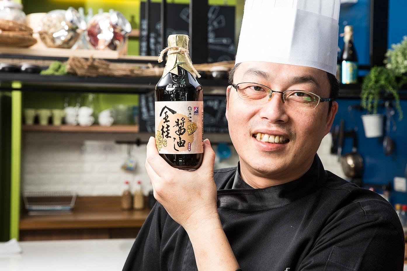 使用台灣原豆 堅持古法釀造 豆油伯原汁原味呈現