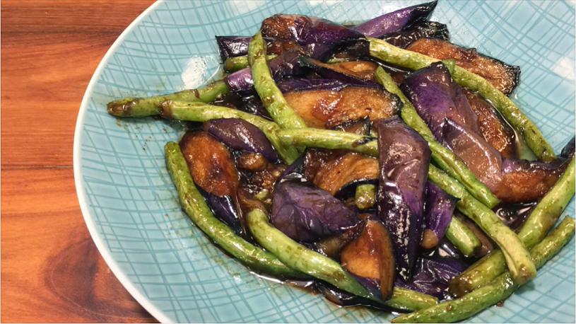 豆油伯X吳恩文的快樂廚房Ⅰ米其林三星復刻版~燒汁四季豆茄子