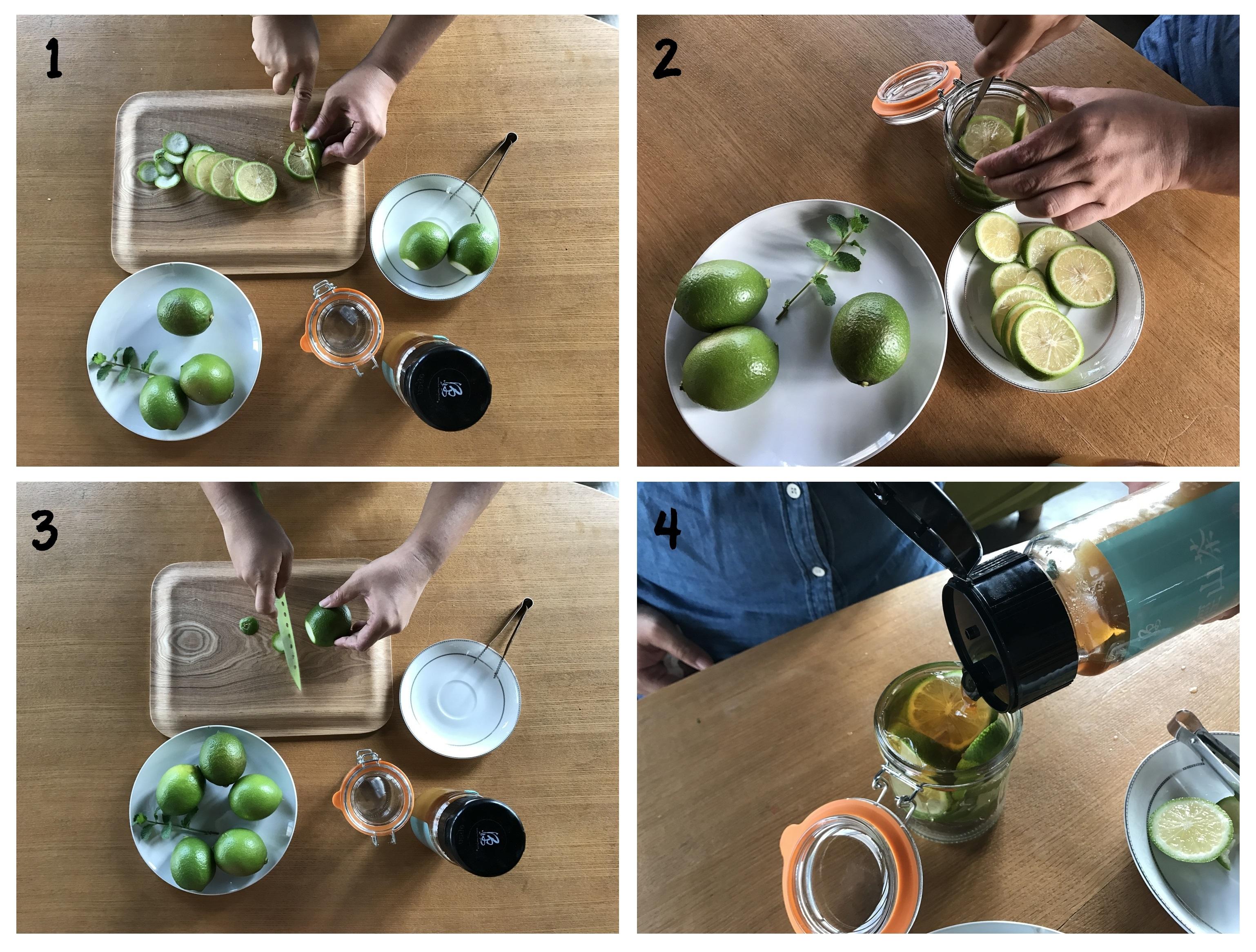 小農特區:蜜徑山茶蜂蜜漬檸檬片飲