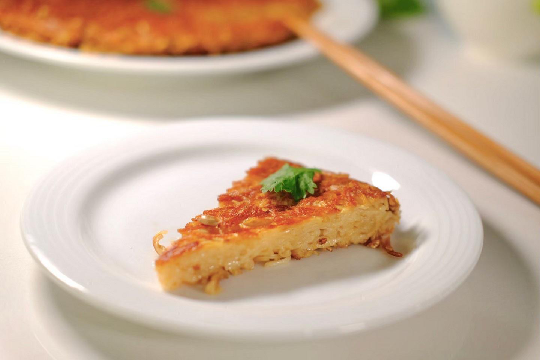 【豆油伯隨手廚房】 宅料理之麻油麵線煎