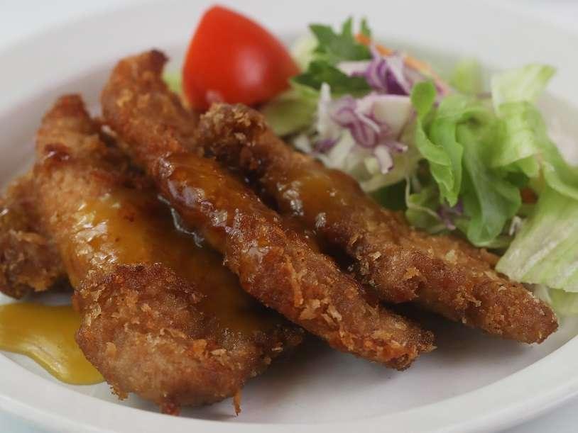 【豆油伯隨手廚房-肉桂打噴嚏篇】清爽進階版之蜂蜜偽奶油炸雞