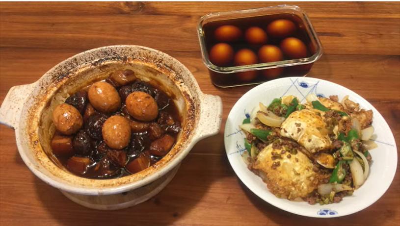 豆油伯X吳恩文的快樂廚房Ⅰ醬油+雞蛋做出三道好料理Ⅰ酒香溏心蛋Ⅰ紅燒肉光蛋Ⅰ紅燒一窩蛋