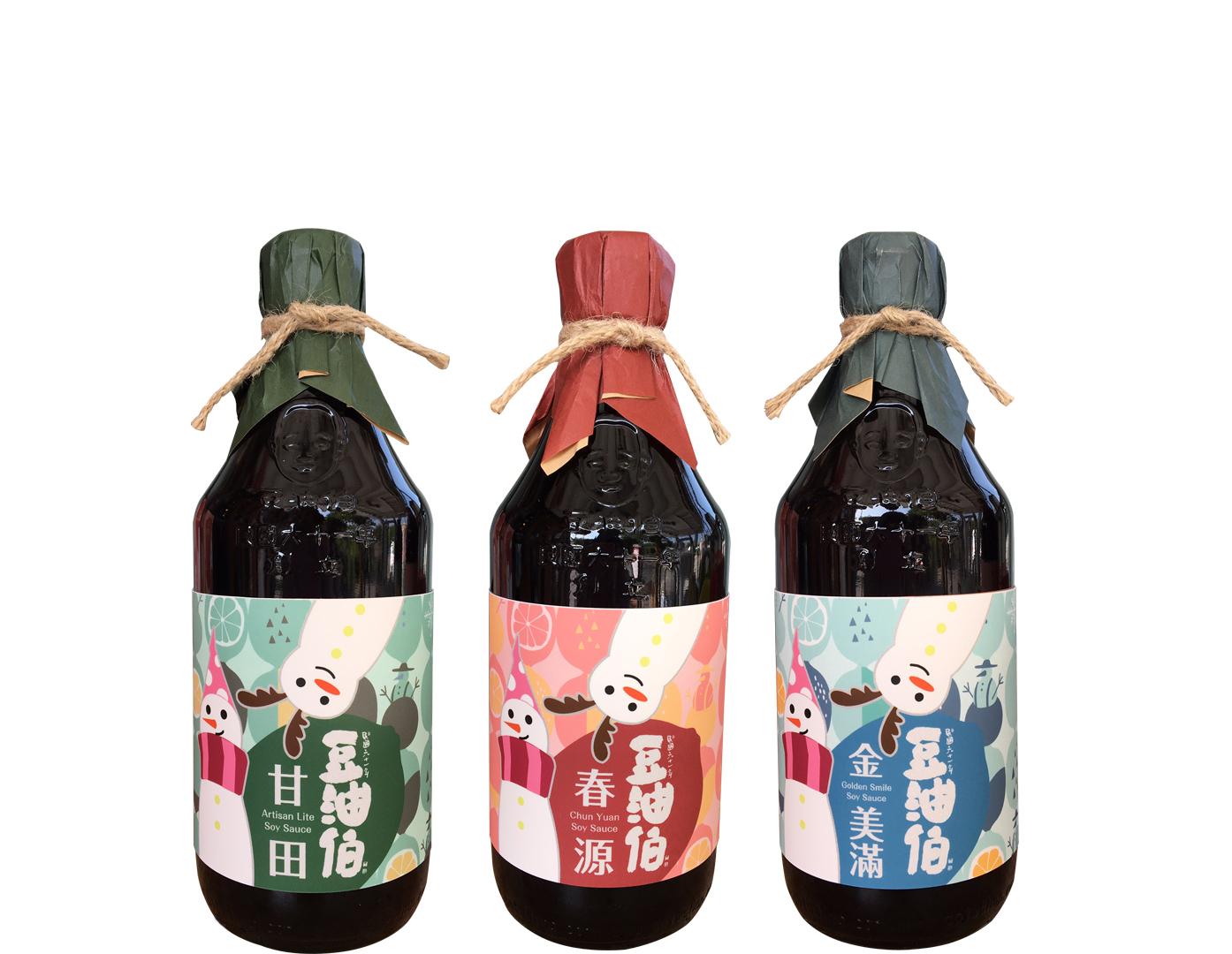 粉紅風潮 竹田豆油伯推限定版醬油