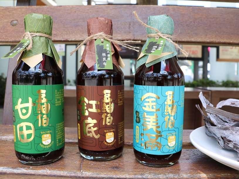 【新品上市】豆油伯昆布醬油,熱銷中