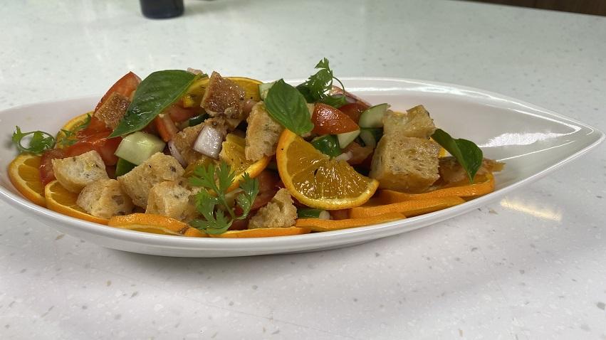 【豆油伯隨手廚房】宅料理之傳統義式沙拉附香橙醬