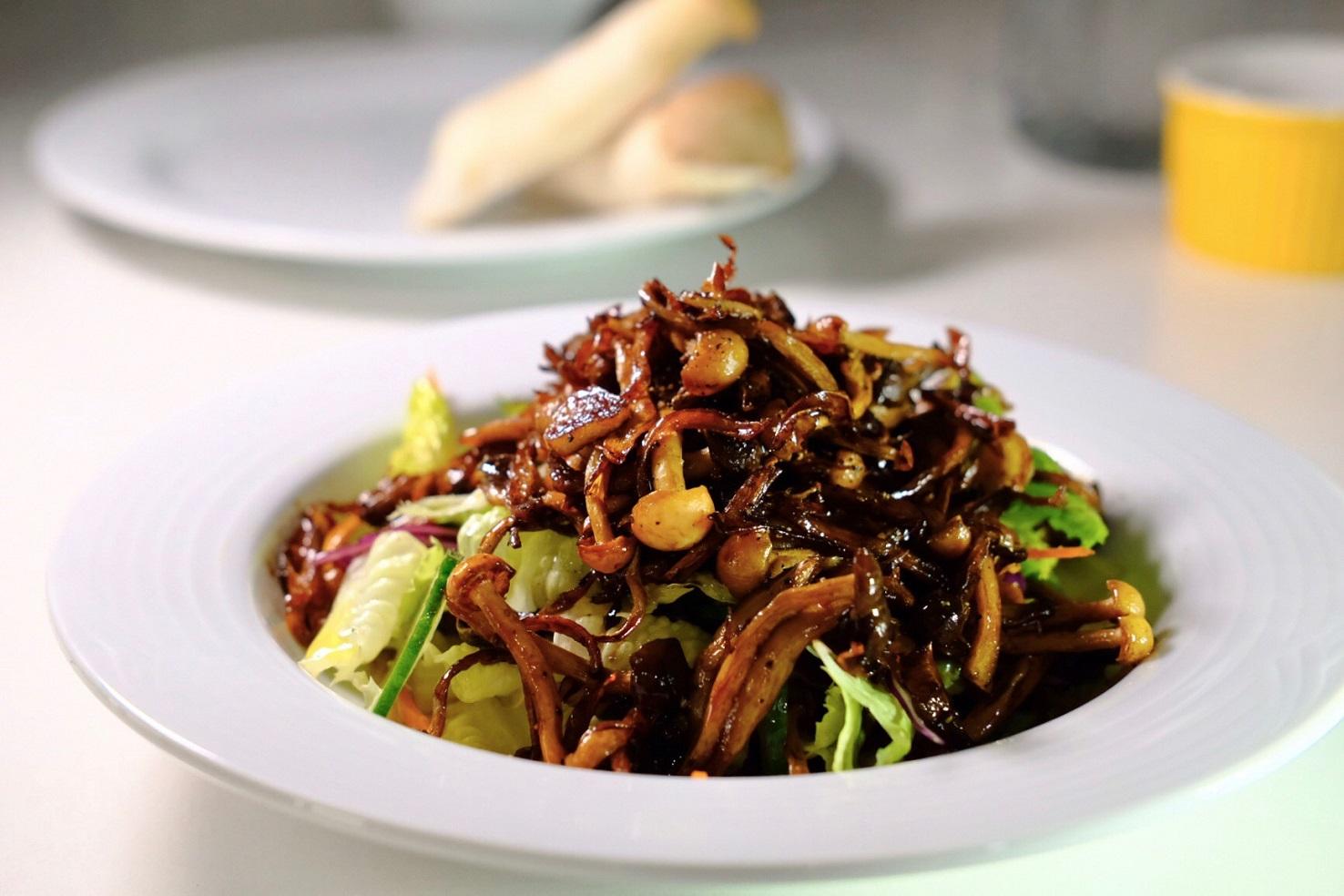 高纖低脂!豆油伯醬油料理野菇溫沙拉