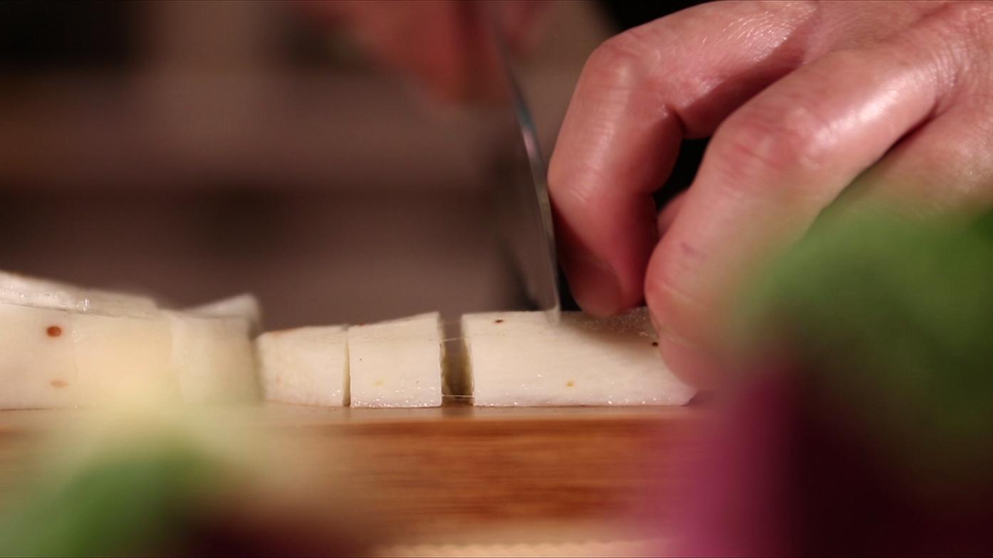 【豆油伯媽咪搵醬-紫薯焗鮮蔬】