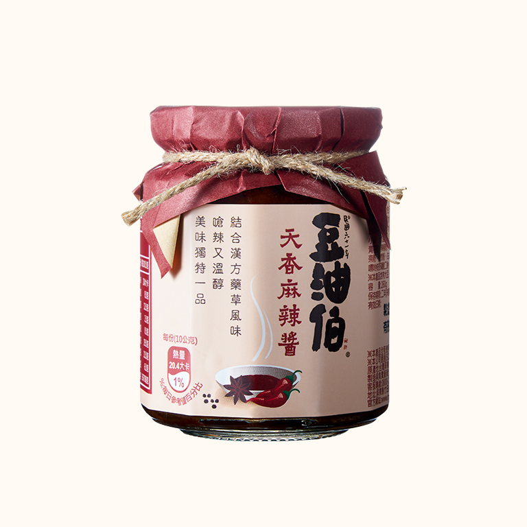 豆油伯天香麻辣醬260g