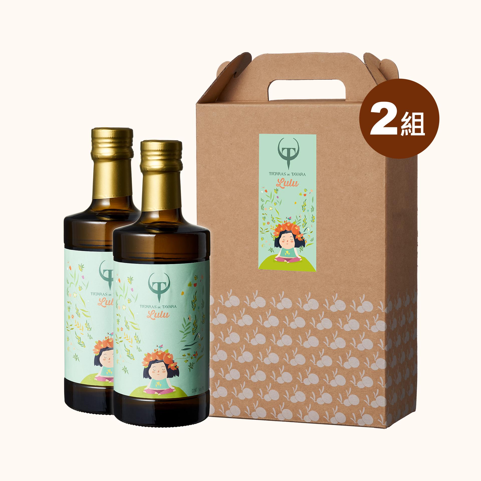 【中秋推薦73折】Lulu's頂級初榨橄欖油4入 (禮盒2組,共4入)