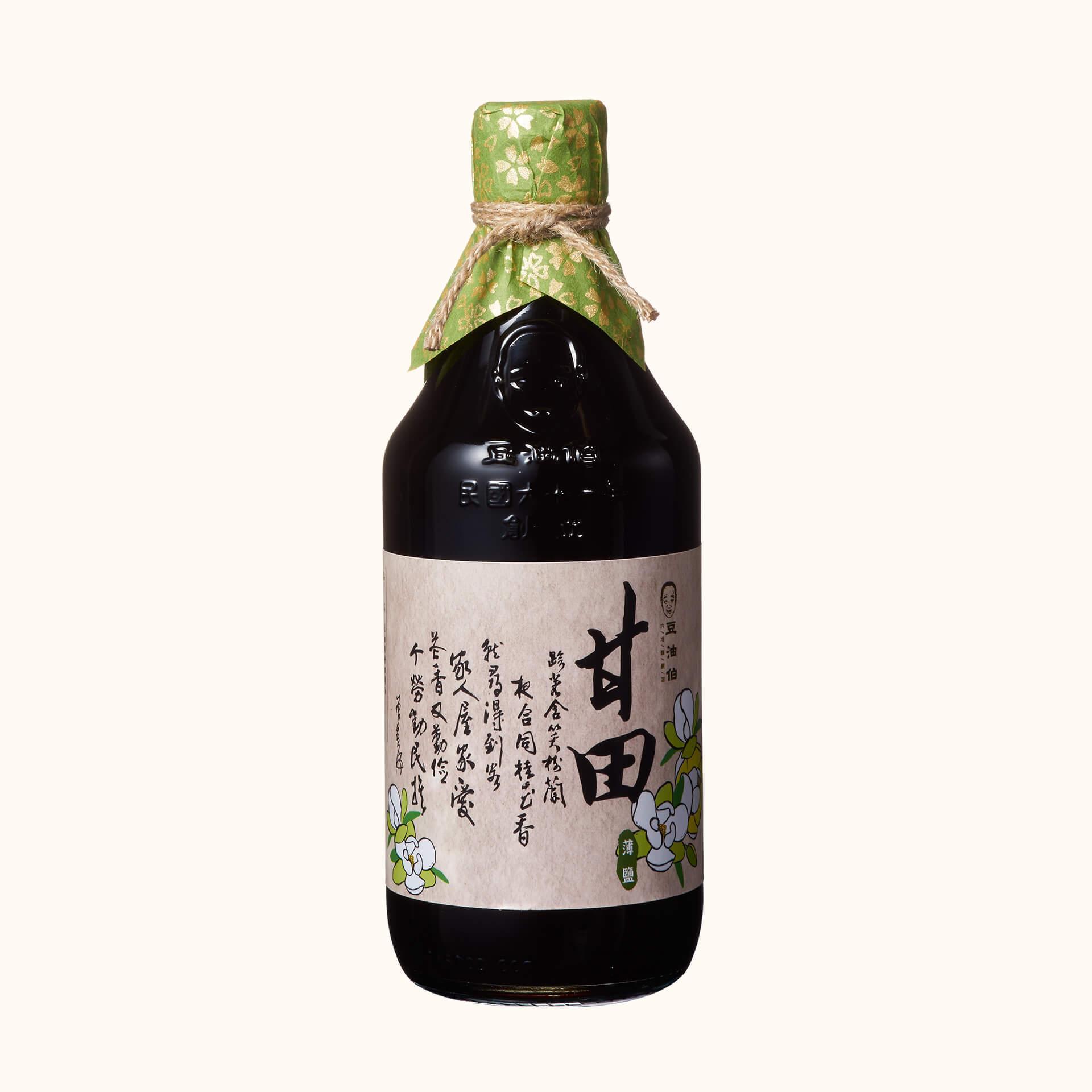 【田蜜美滿伴手禮】甘田醬油1入+金美滿醬油1入+金美好醬油1入(禮盒1組,共3入)
