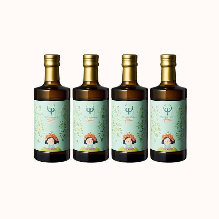 【會員日66折起】Lulus 頂級初榨橄欖油500ml(4入)