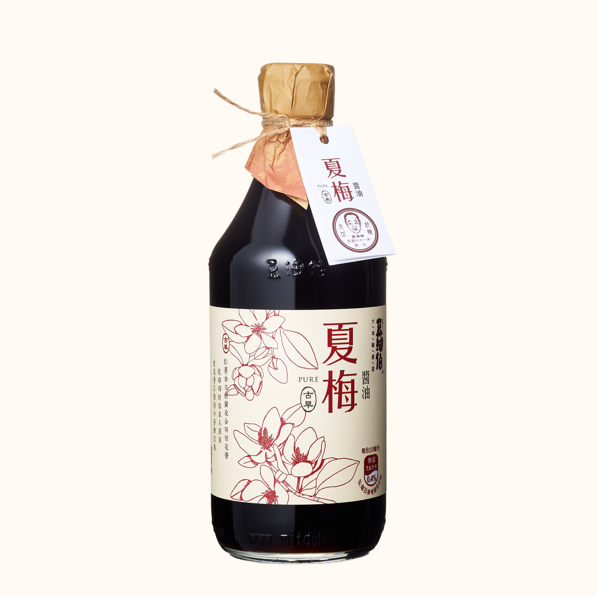 【東森獨家】竹田設計版-夏梅無添加糖釀造醬油500ml