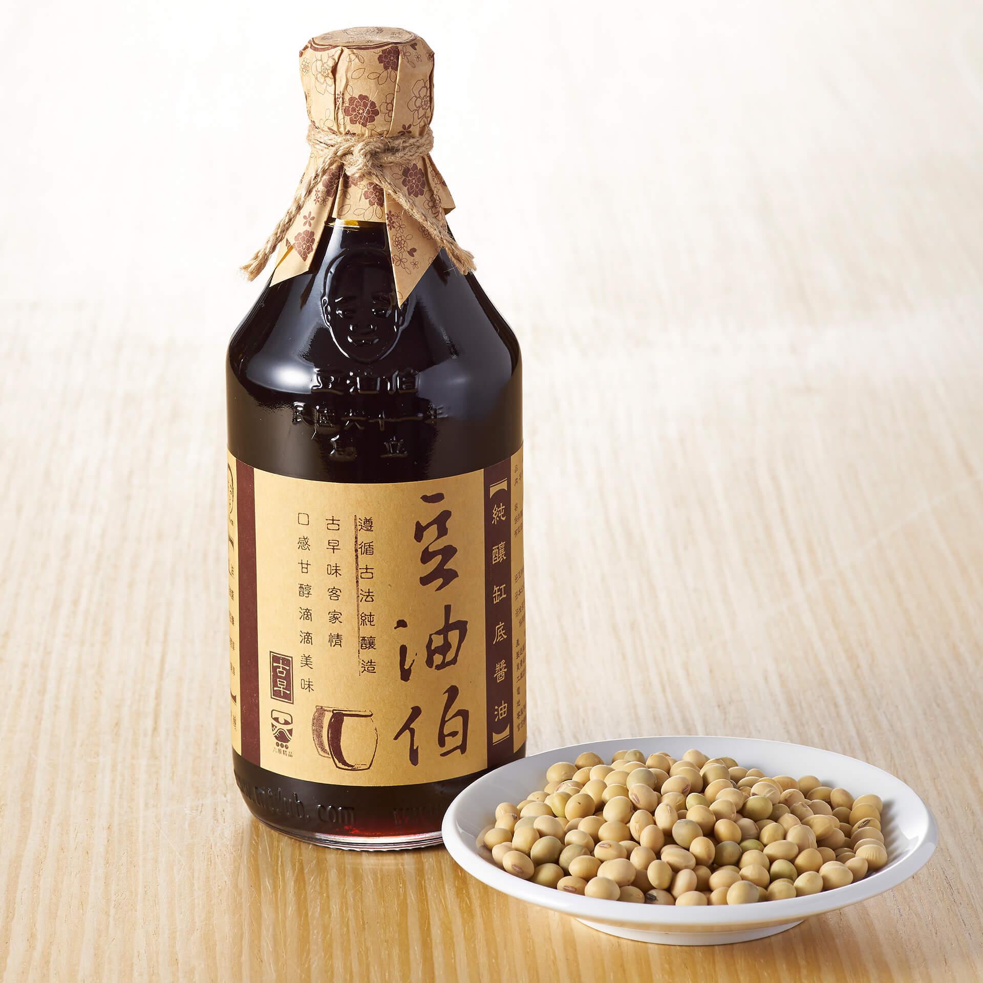 【窗花禮盒】缸底醬油1入+金豆醬油1入+紅麴醬油1入(紅禮盒1組,共3入)