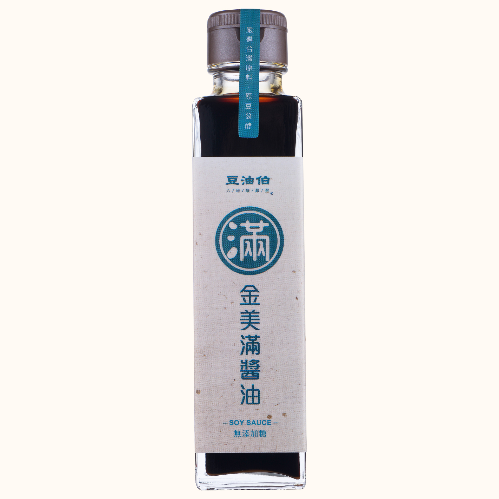 【短效品】金美滿無添加糖黃豆醬油日式瓶150ml(效期:20190315-20210314)