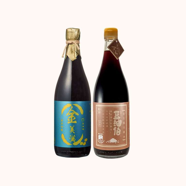 【改版慶買1送1】金豆醬油680ml 1入+金美滿醬油680ml 1入(共2入)