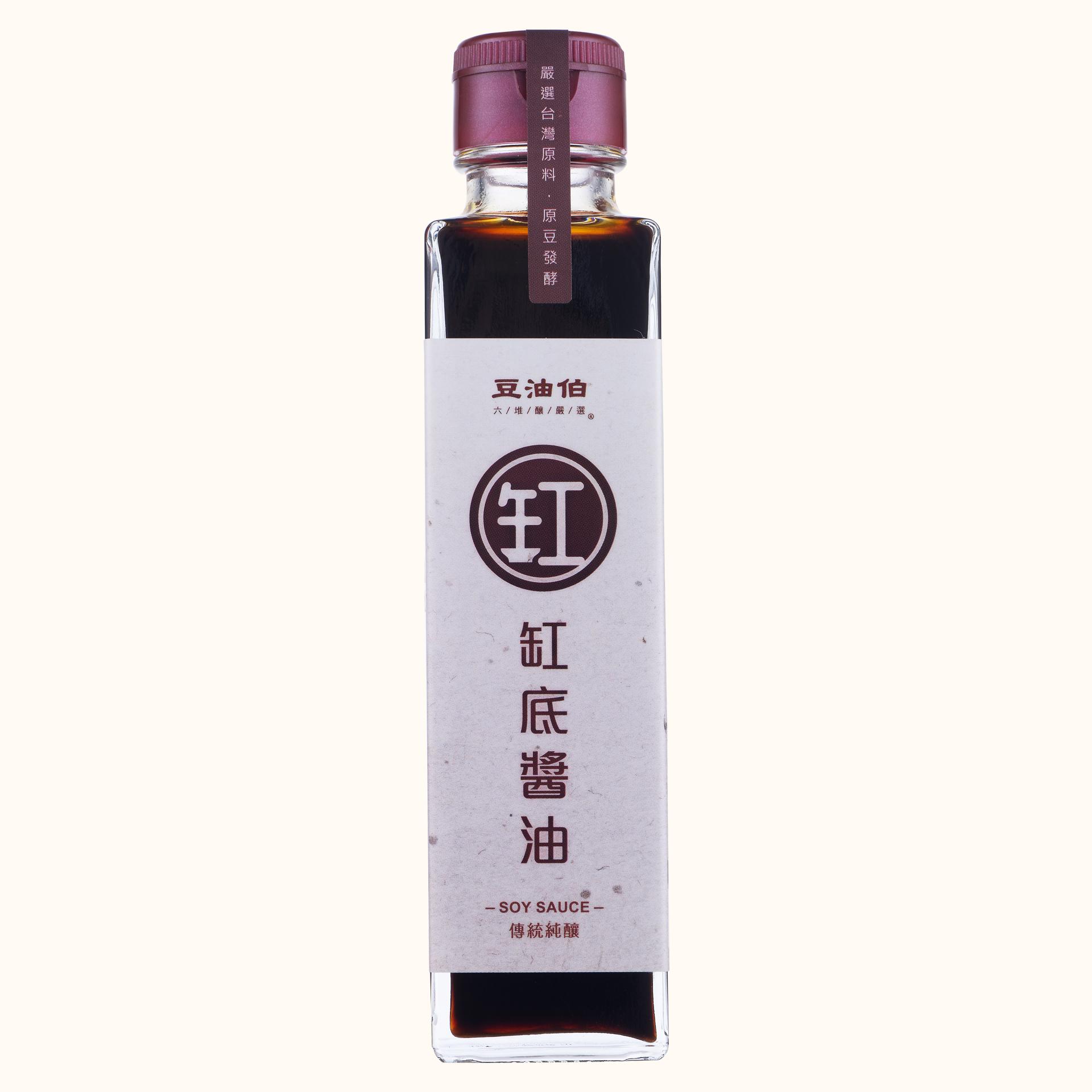 【短效品】缸底醬油日式瓶150ml(效期:20190225-20210224)
