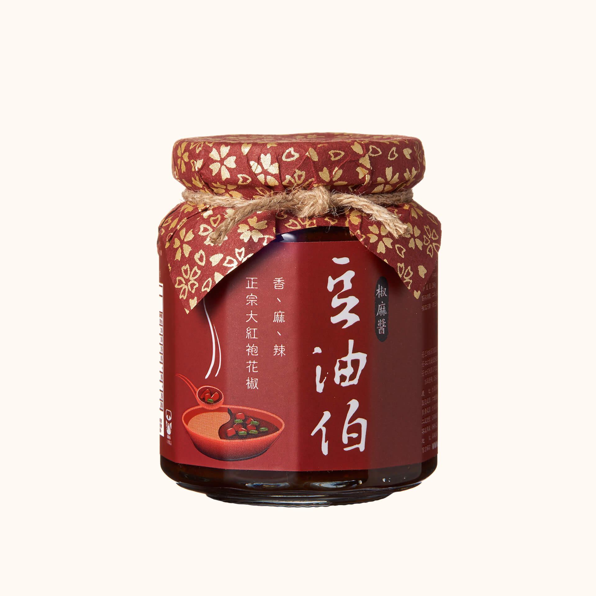 豆油伯椒麻醬260g
