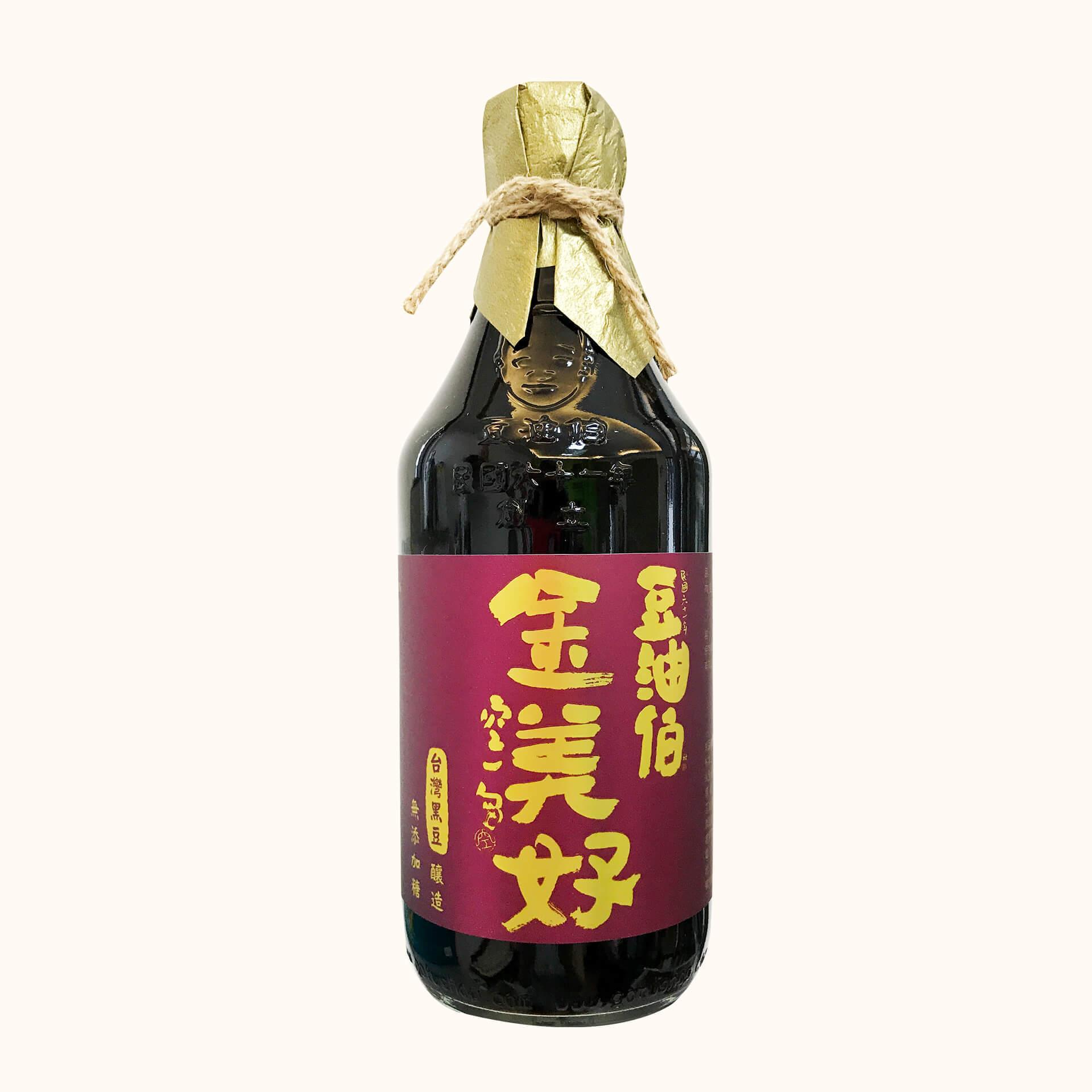 金美滿醬油3入+金美好醬油3入(共6入)送復古袋3入