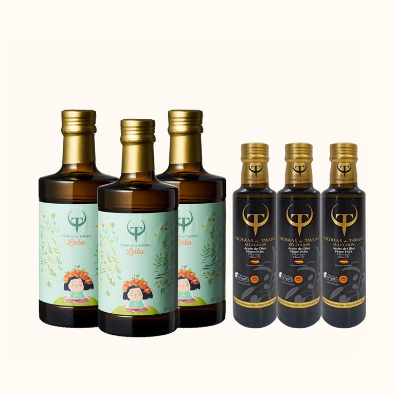 Lulu's頂級初榨橄欖油3入(500ml),送賽古拉橄欖油3入(250ml)