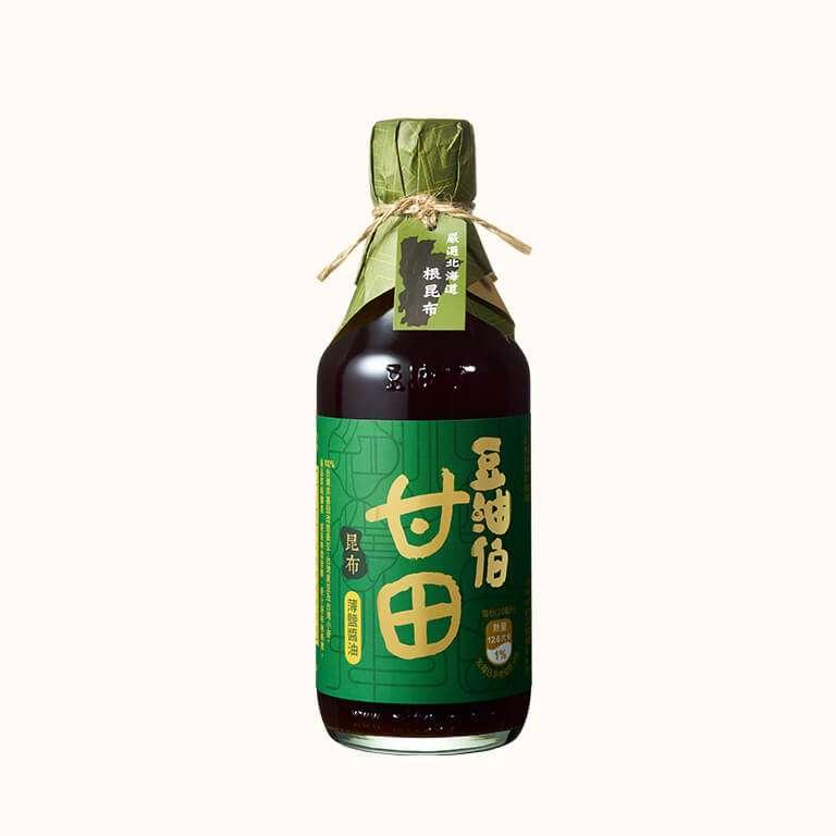 【大潤發首推款】豆油伯昆布甘田釀造醬油300ml
