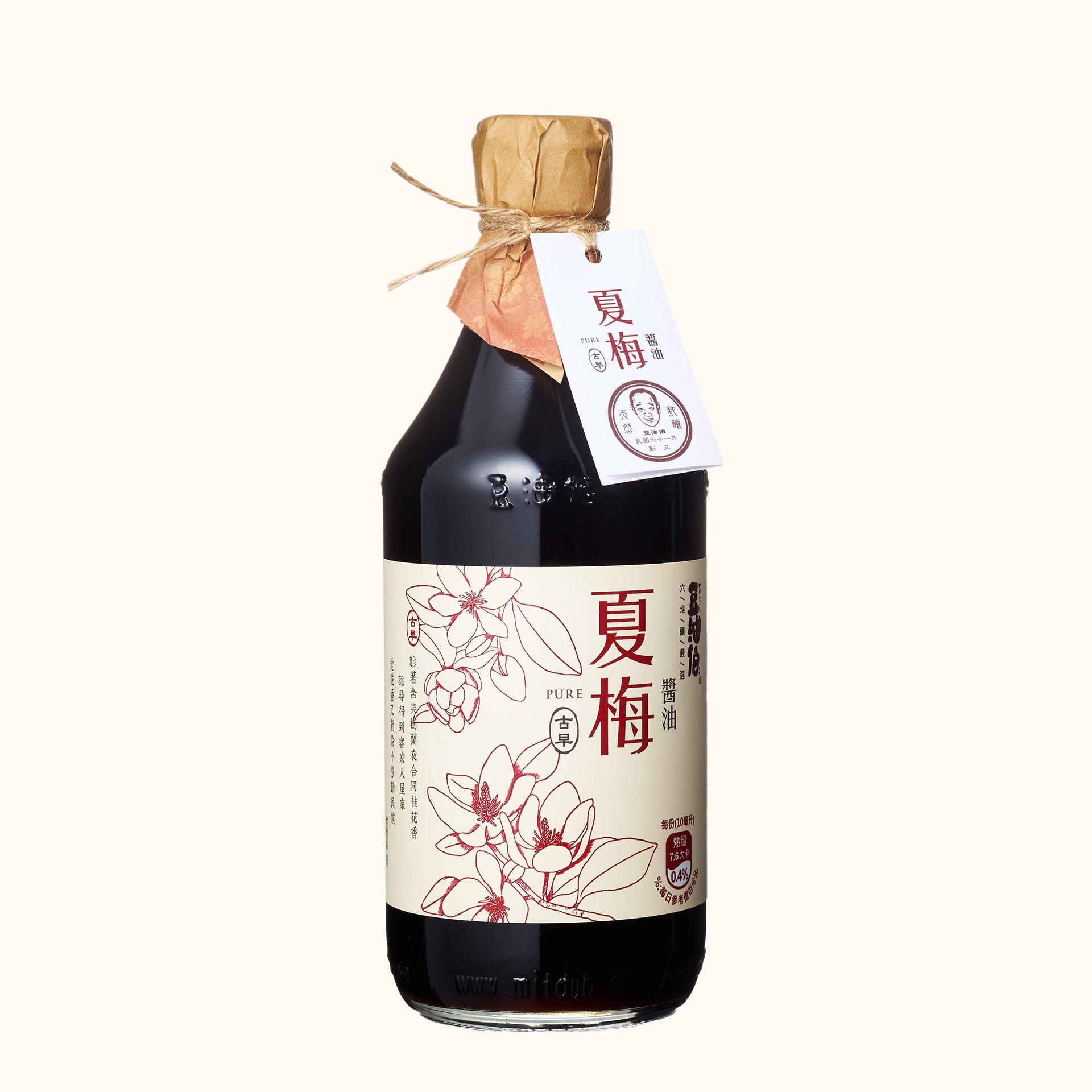 【東森獨家】竹田設計版-夏梅無添加糖釀造醬油500ml(有效:20221026)