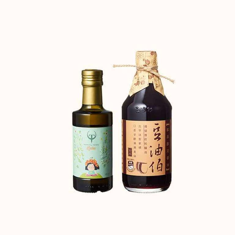 【新客限定】缸底醬油500ml+Lulus橄欖油250ml 1入