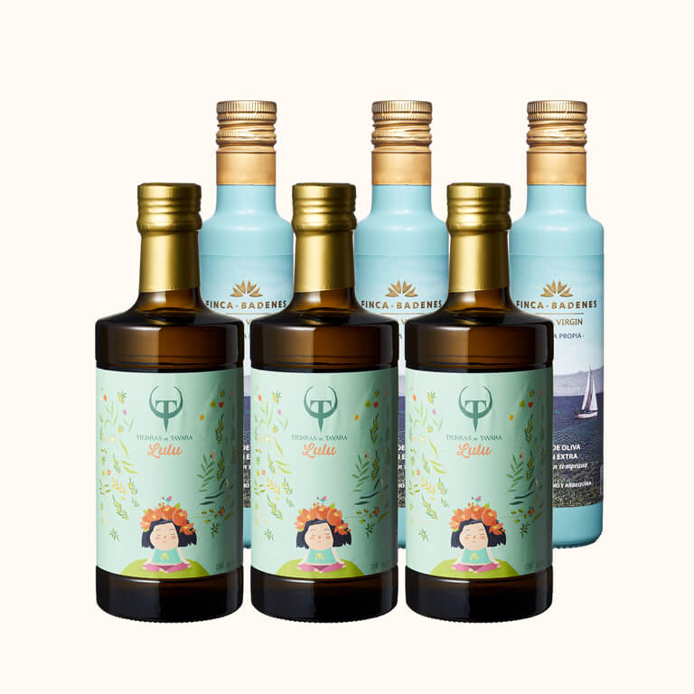 Lulus頂級橄欖油500ml3入+巴狄尼絲橄欖油 250ml3入(共6入)
