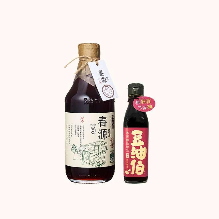 【改版慶買1送1】竹田春源醬油1入,送春源醬油1入(200ml)(共2入)