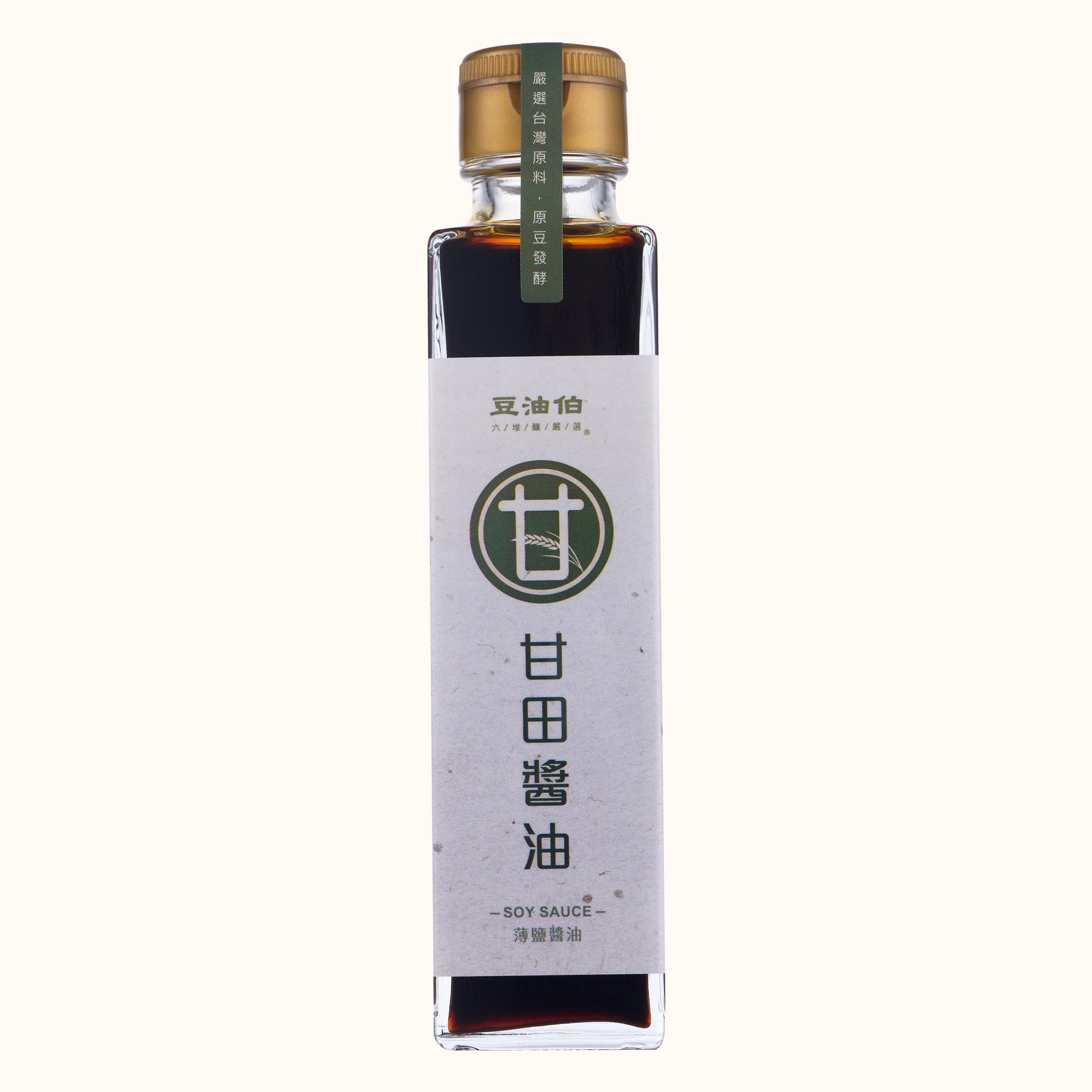 【短效品】甘田醬油(薄鹽)日式瓶150ml(有效20210516)