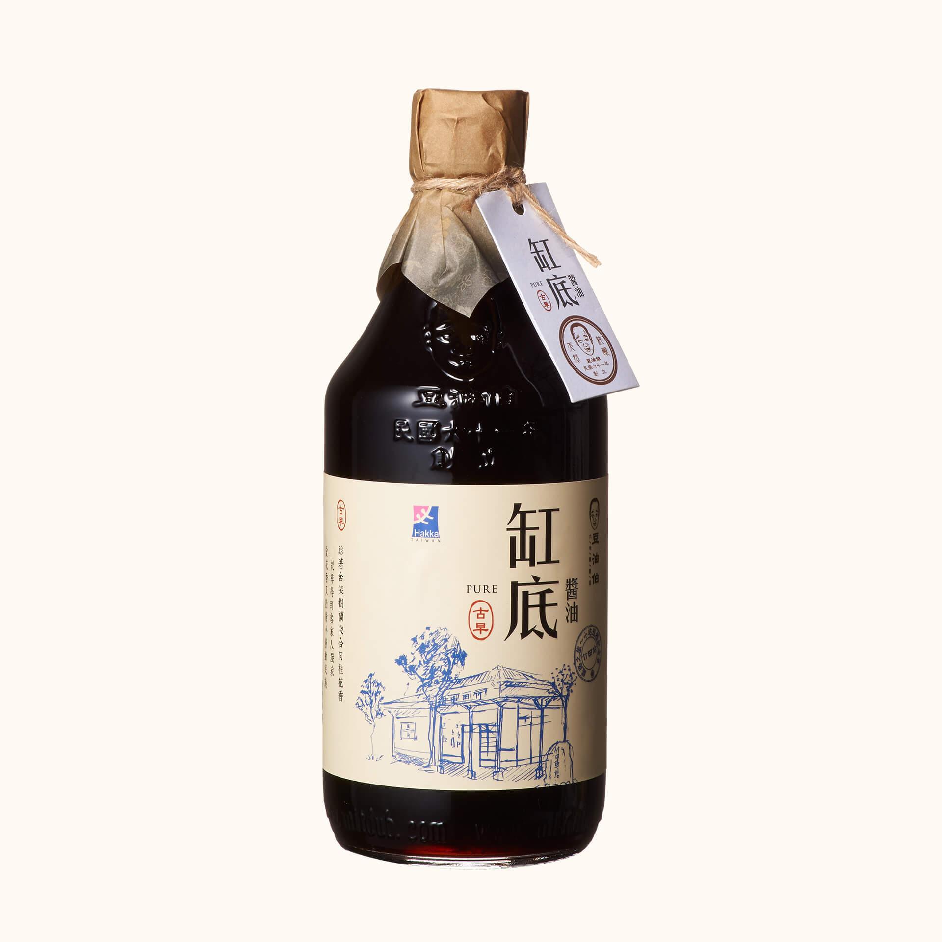 竹田設計版-缸底釀造醬油500ml