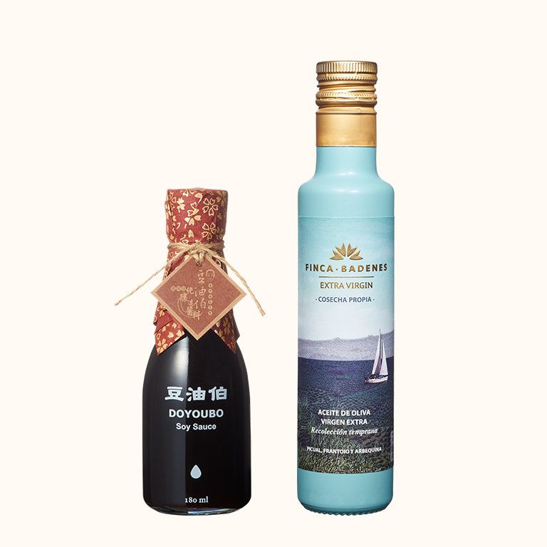 【新客限定】巴狄尼絲橄欖油250ml 1入+缸底醬油180ml 1入(共2入)