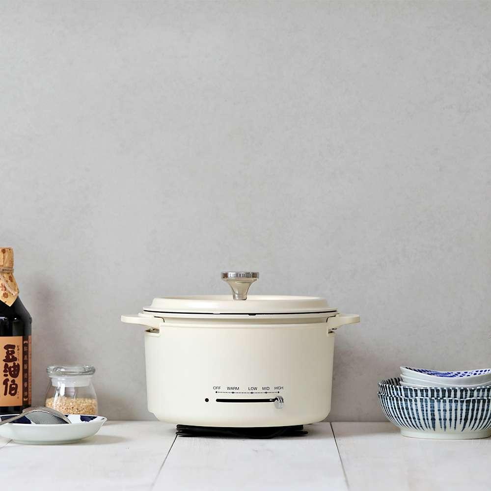 【限量組合】金美滿醬油4入+金美好醬油4入(共8入)+YAMAZEN多功能調理鍋