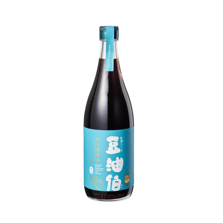 【MOMO獨家】豆油伯金美滿無添加糖釀造醬油680ml(黃豆醬油)
