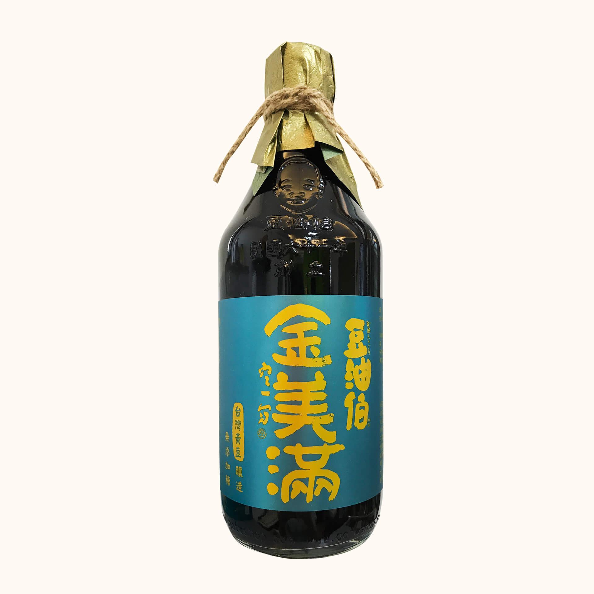 【田蜜美滿伴手禮】甘田醬油2入+金美滿醬油2入+金美好醬油2入(禮盒2組,共6入)