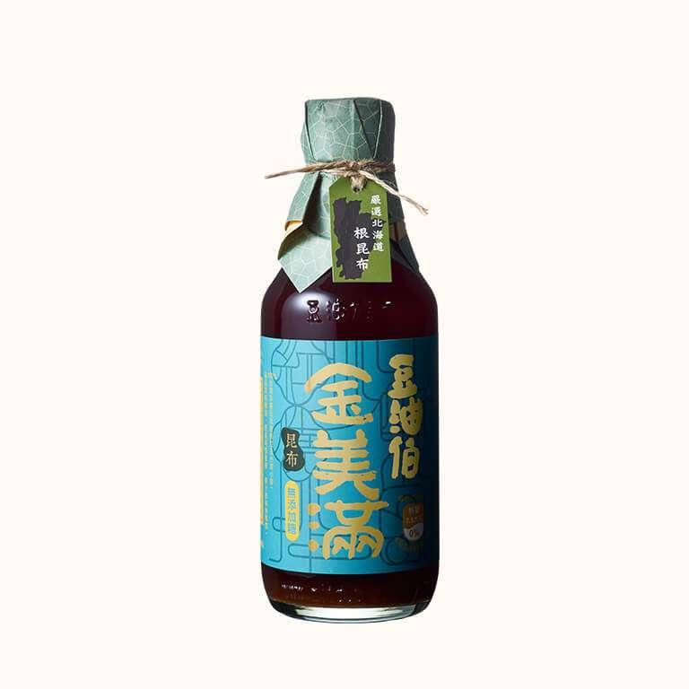 【大潤發首推款】豆油伯昆布金美滿釀造醬油300ml