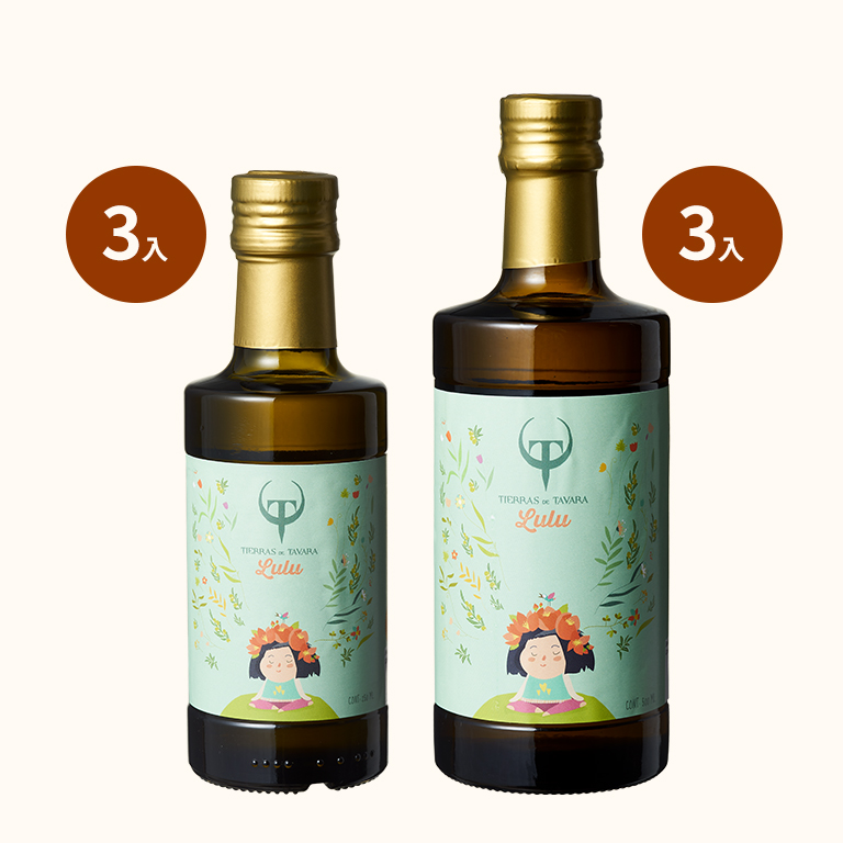 【買3送3】Lulu's頂級初榨橄欖油500mlx3+送Lulus橄欖油250mlx3
