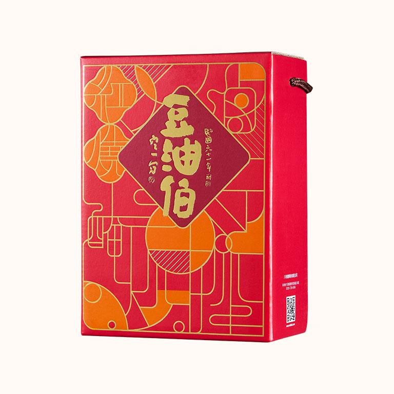 經典窗花紅禮盒2入裝