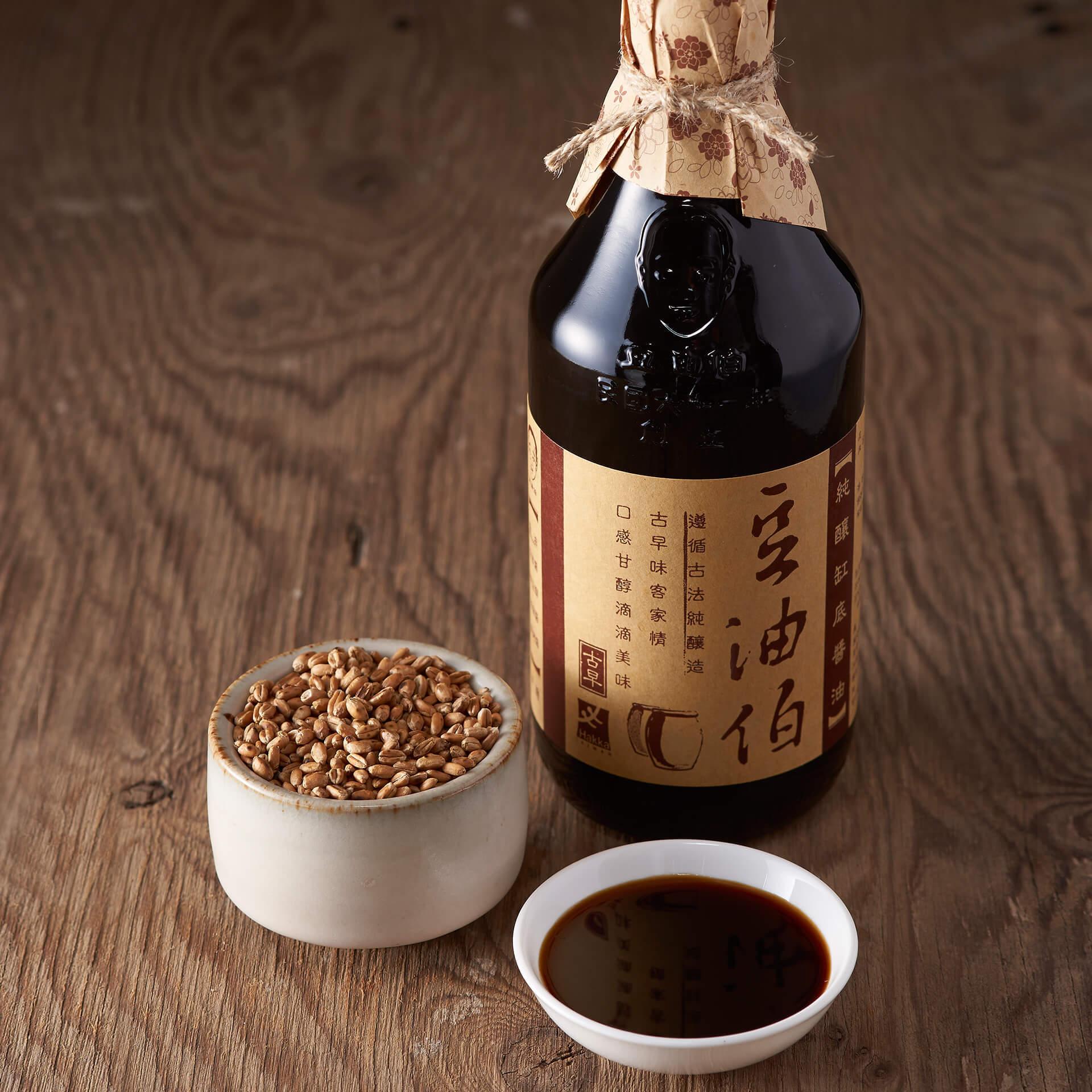 【中秋禮盒】缸底醬油2入窗花禮盒(共4組,8入)(不挑色)