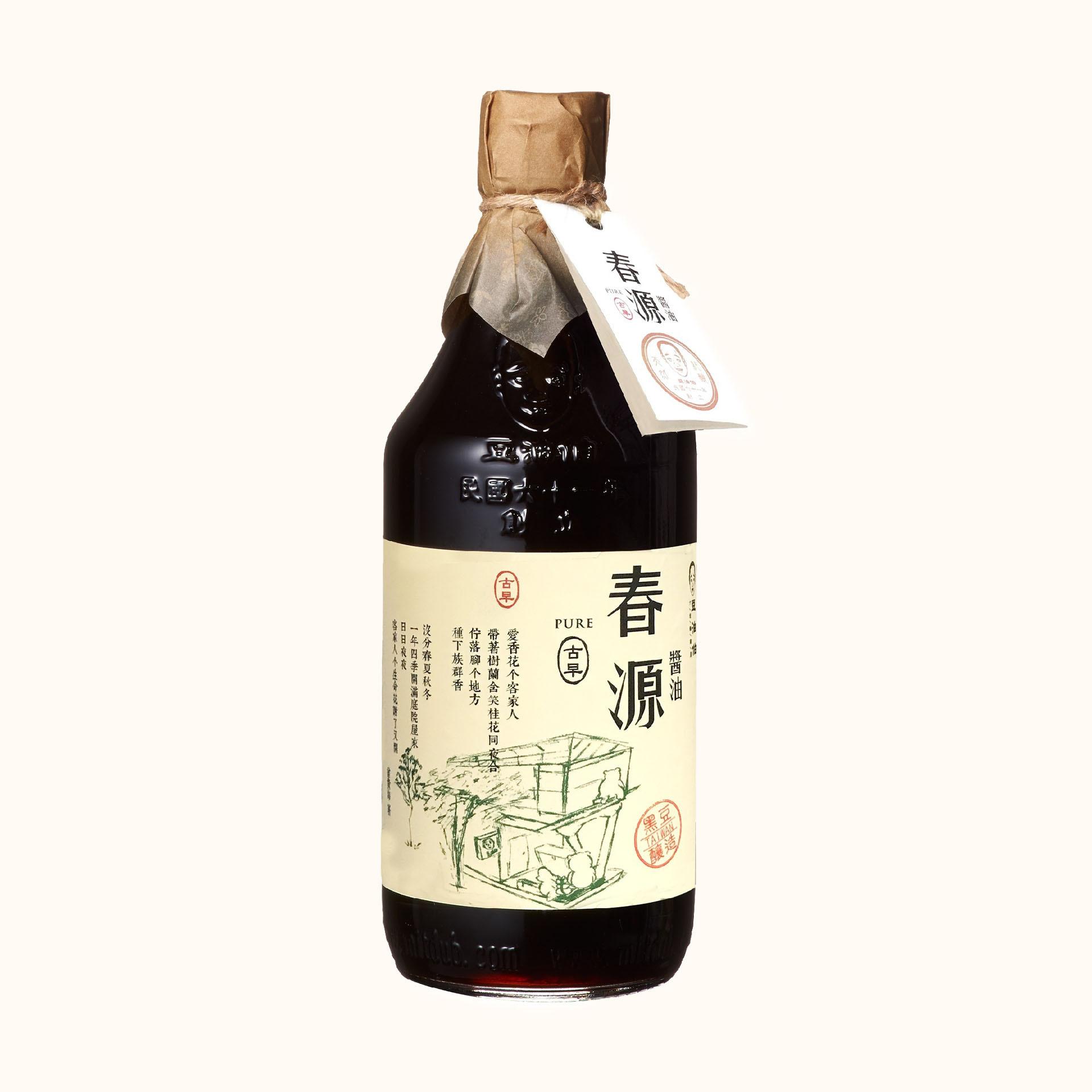 竹田設計版-春源釀造醬油500ml