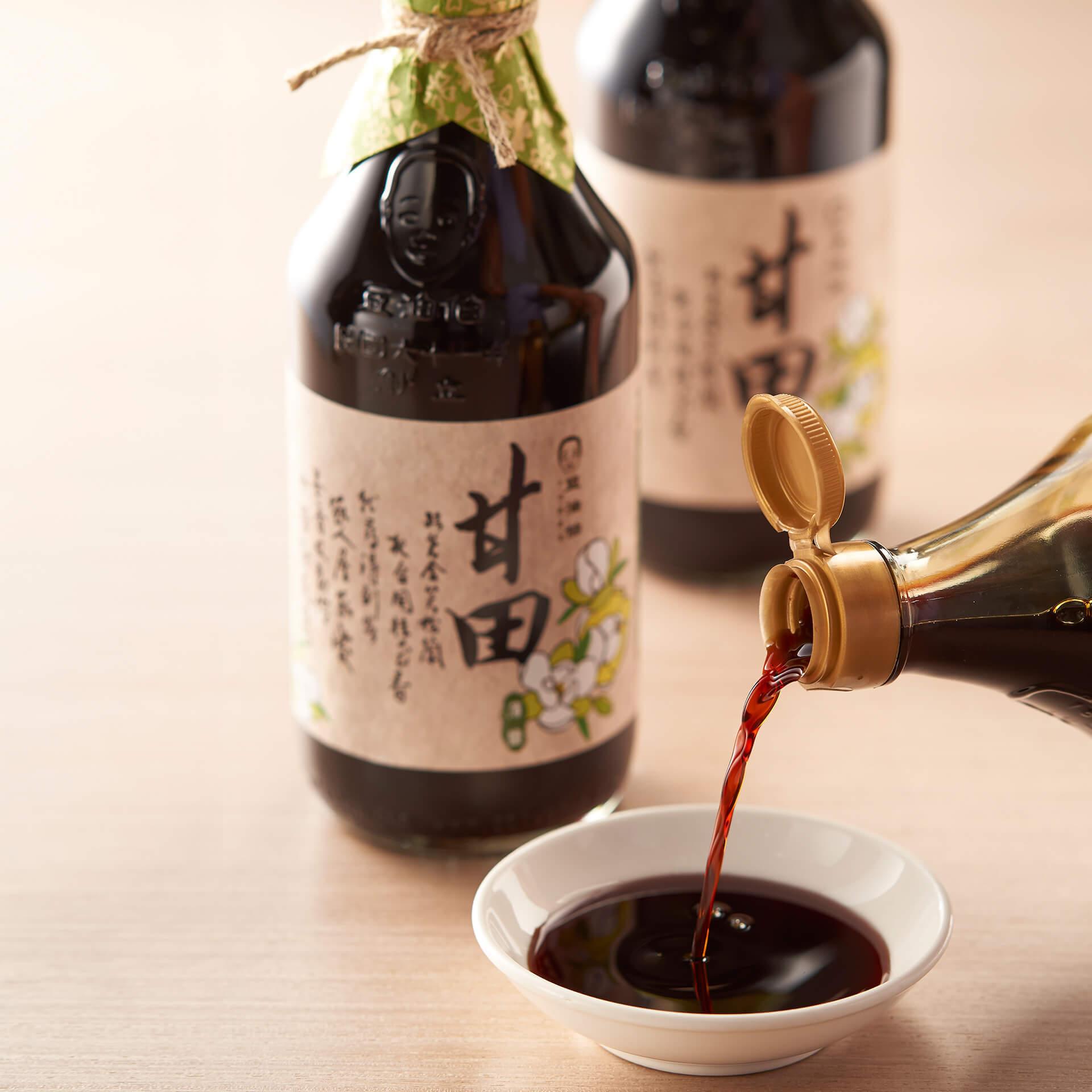 豆油伯甘田釀造醬油500ml(薄鹽醬油)