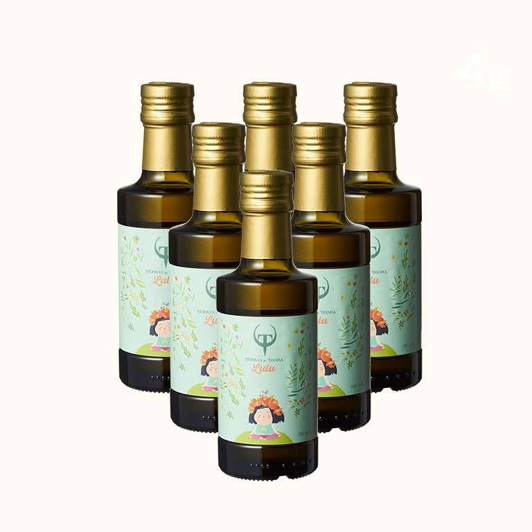 【第二件5折】Lulus 頂級初榨橄欖油 250ml(6入)