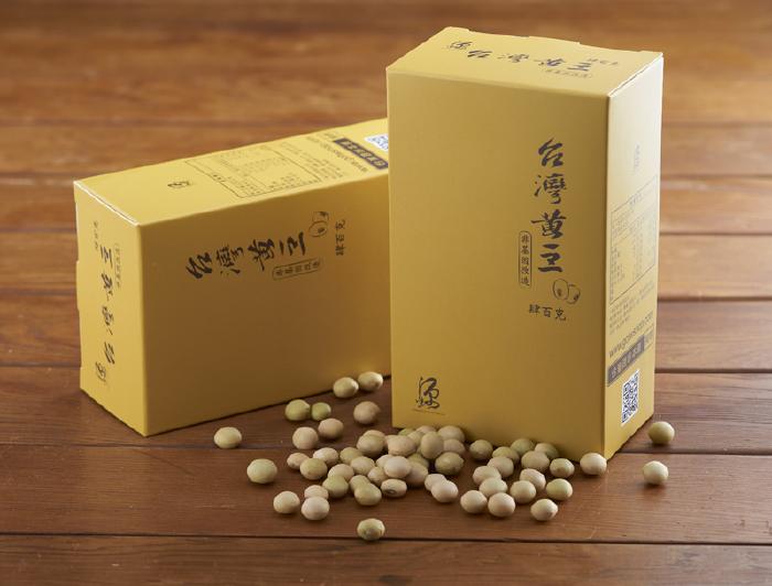 【小農特區】臺灣黃豆 400g*3入組