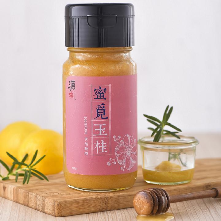 金美好醬油2入+蜜覓玉桂蜂蜜750g