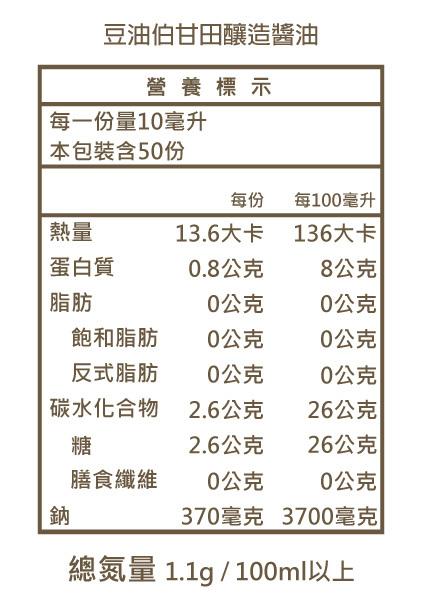 甘田醬油5入+春源醬油5入(共10入)