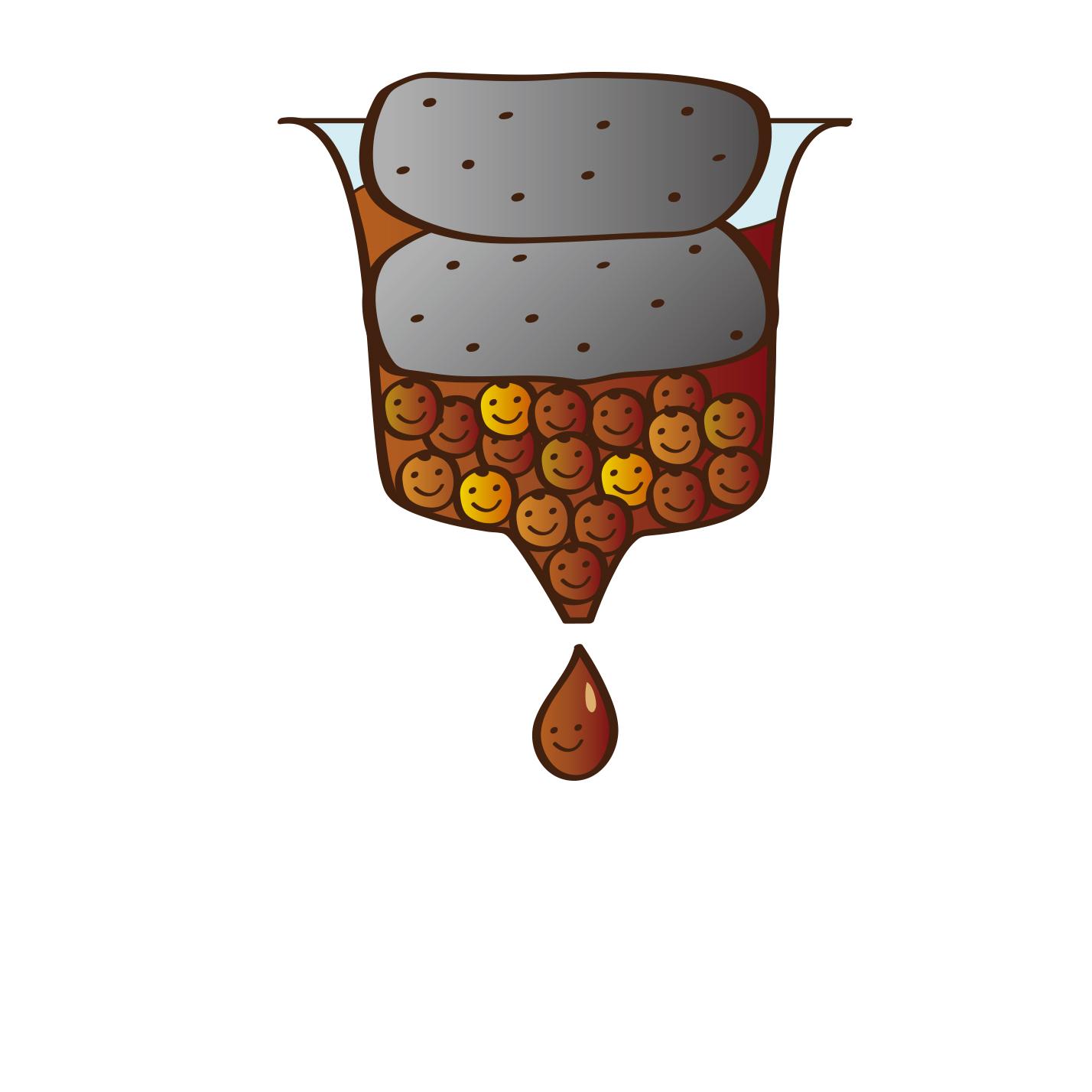 醬醪壓榨(醬汁)
